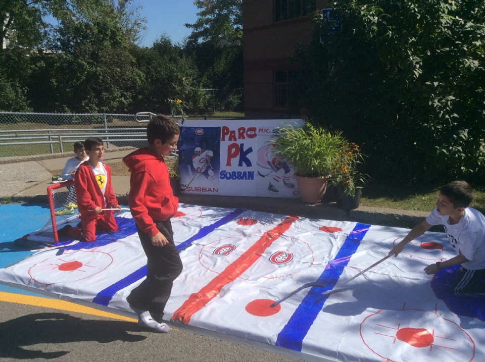 TERRY FOX SCHOOL ╥ STUDENTS CREATE PARC PK SUBBAN | Laval Families Magazine | Laval's Family Life Magazine