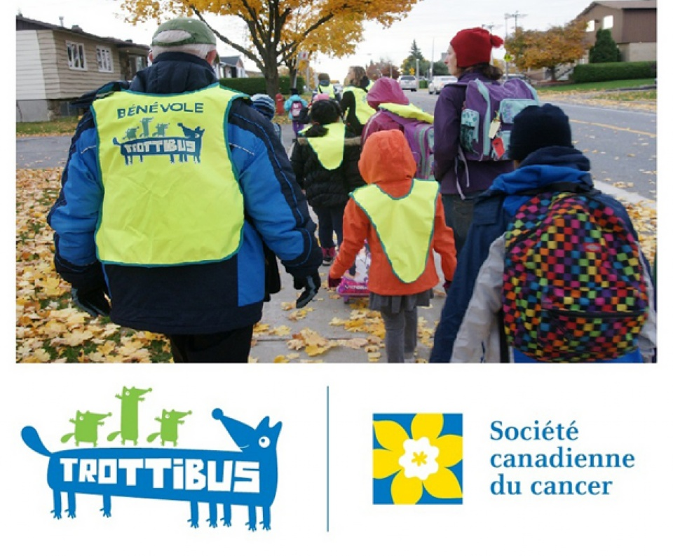 Trottibus—The Walking School Bus Near You | Laval Families Magazine | Laval's Family Life Magazine