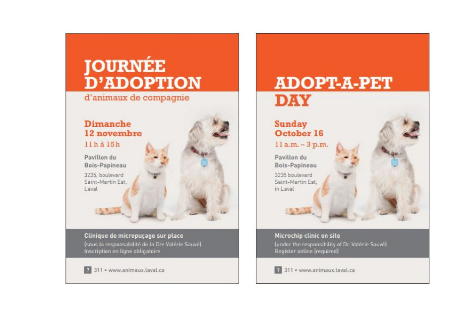ADOPT╥A╥PET DAY | Laval Families Magazine | Laval's Family Life Magazine